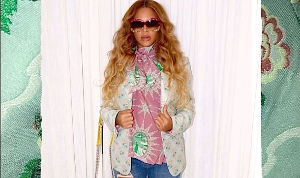Beyonce's Haute Maternity Fashion: Topshop, Gucci & Dior [Photos]