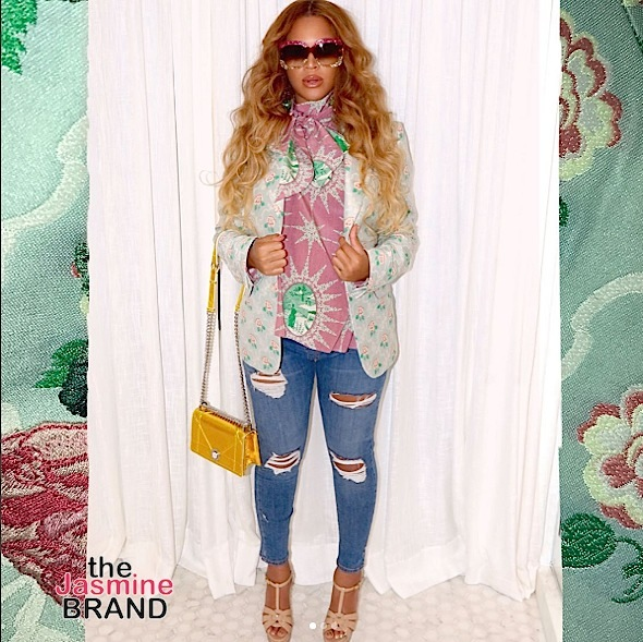 Beyonce's Haute Maternity Fashion: Topshop, Gucci & Dior