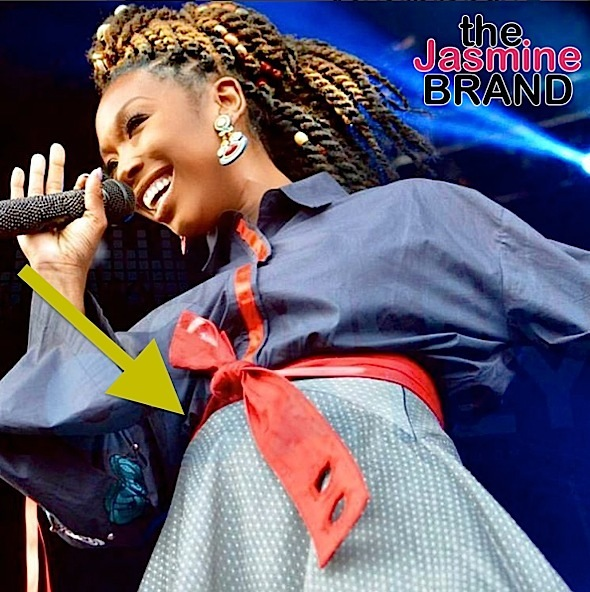 Brandy's Daughter Shuts Down Pregnancy Rumors [Ovary Hustlin']