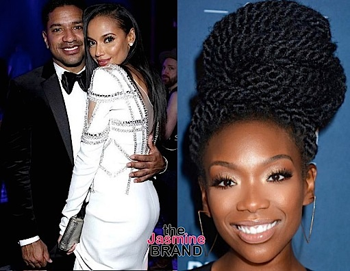Brandy Reacts To Ex Fiance & Girlfriend Selita Ebanks: Broke Bitch