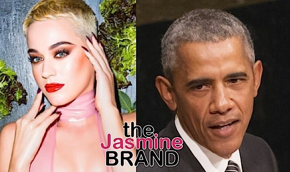 Katy Perry Compares Black Hair To Obama [VIDEO]
