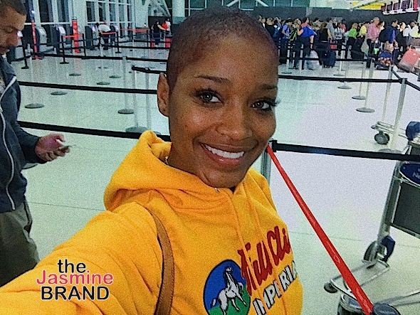 Keke Palmer Debuts Haute Bald Head [New Hair Alert]