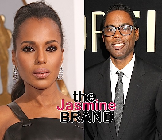 Chris Rock Allegedly Cheated On Wife w/ Kerry Washington