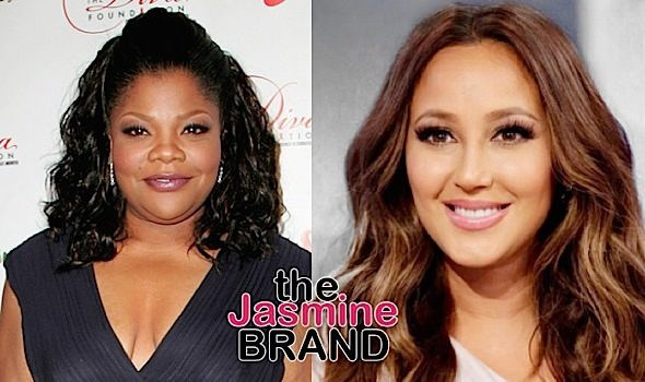 Adrienne Bailon Calls Out Mo'Nique: Just because you're loud doesn't mean you're keeping it real.