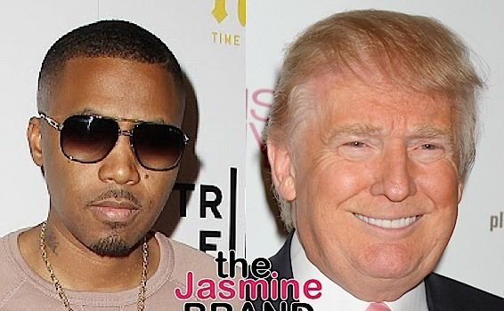 Nas: We all know a racist is in office.