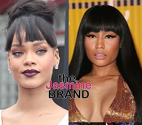 Rihanna Shades Nicki Minaj