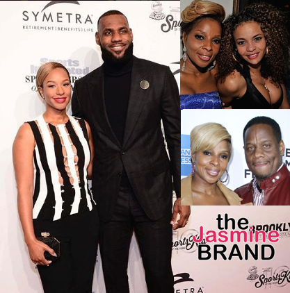 Starshell Was Trying To DateLeBron James Before Alleged Affair w/ Mary J. Blige's Husband