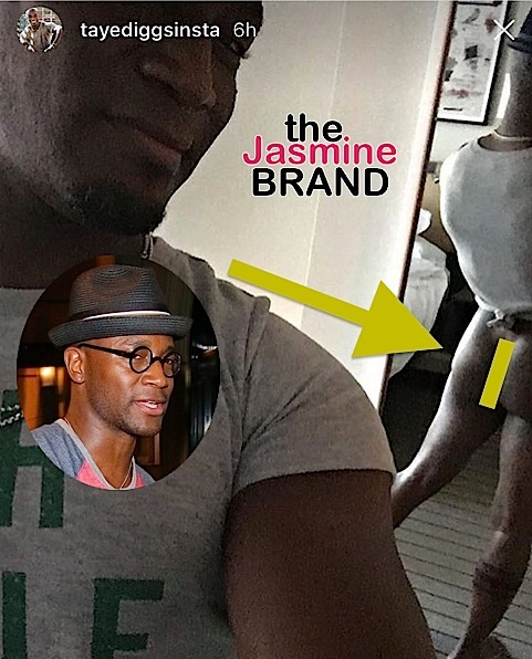 Taye Diggs Debuts Bare Booty & New Wig [VIDEO]