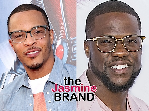 Kevin Hart & T.I. Developing Music Themed Comedy Series 'The Studio'