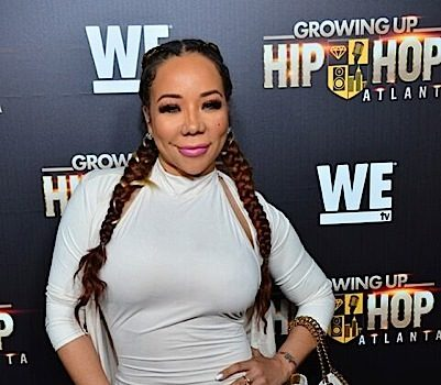 Tiny Harris' Hair Catches On Fire!