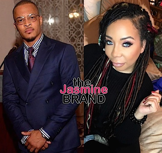 T.I. Cheated On Wife Tiny With Hired Help