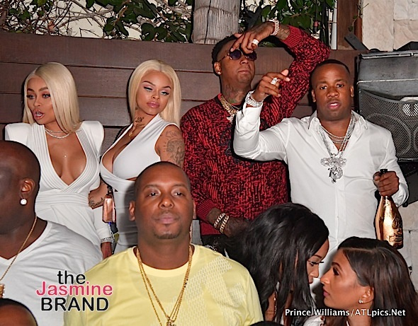 Trey Songz, Lil Mama, Dave East, Malaysia Pargo, Laura Govan, Blac Chyna [Spotted. Stalked. Scene.]