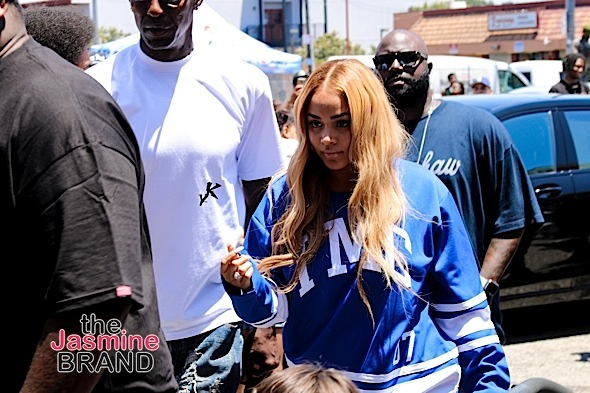 677df0a323 Nipsey Hussle Opens The Marathon Store: Russell Westbrook, Lauren London,  Jim Jones,