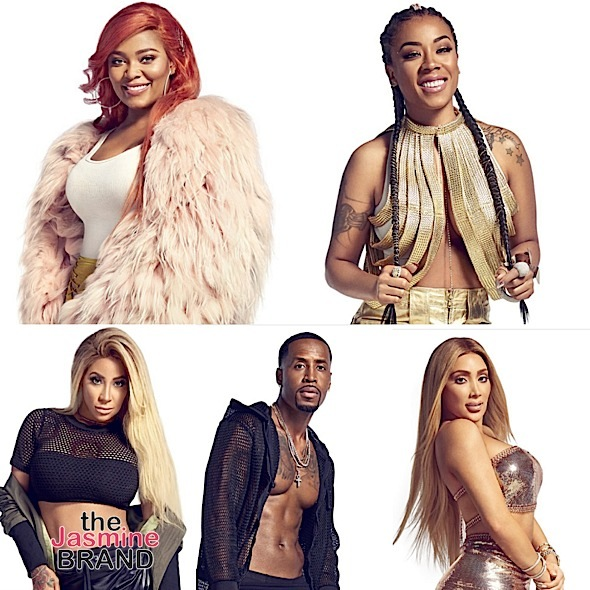 Love & Hip Hop: Hollywood's Teairra Mari, Safaree, Keyshia Cole, Hazel E, Miss Nikki Baby Are Photo Shoot Fresh!