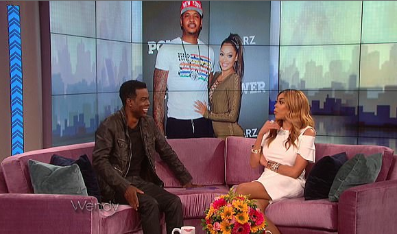 Carmelo Anthony Accuses Chris Rock Of Hitting On Lala