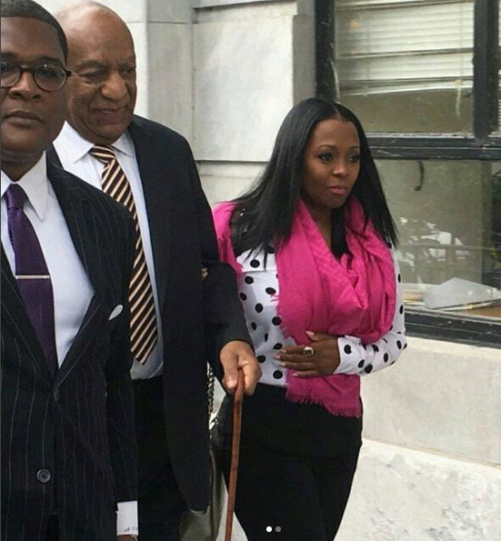 Bill Cosby Arrives To Trial With Keshia Knight-Pulliam