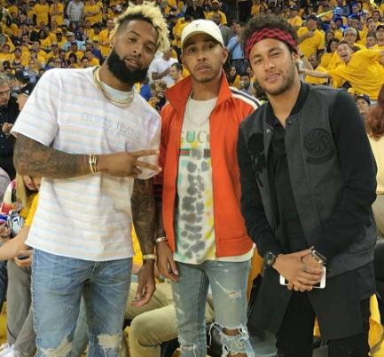 2 Chainz, E40, Odell Beckham & Lewis Hamilton Hit NBA Finals [Celebrity Stalking]