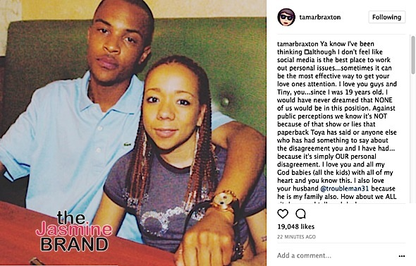 Tamar Apologizes To Tiny, Wants To Help Her Reconcile w/ T.I