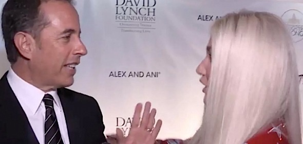 Seinfeld Explains Curving Kesha: I don't hug a total stranger. [VIDEO]