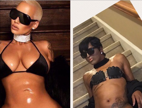 Amber Rose Challenge Sparks Hilarious Crotch Shots [Photos]