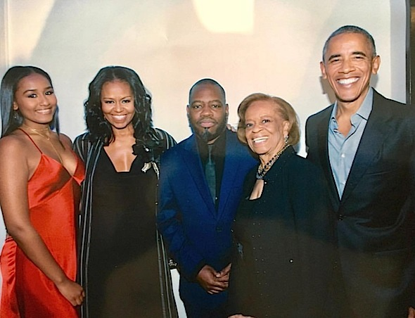 Remy Ma, Chance The Rapper, Common, Lil Kim + Sasha Obama