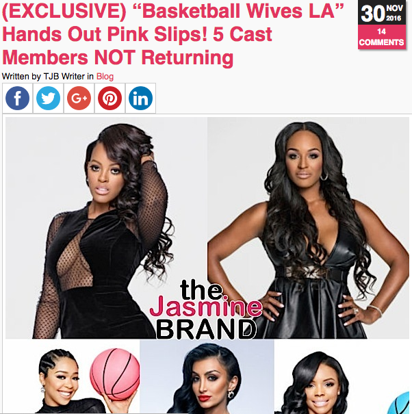Brandi Maxiell Says 'Basketball Wives' Begged Her & Malaysia Pargo To Return