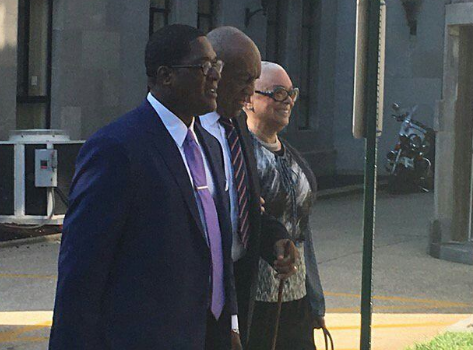 Camille Cosby Accompanies Husband In Court + Bill Cosby Declines To Testify