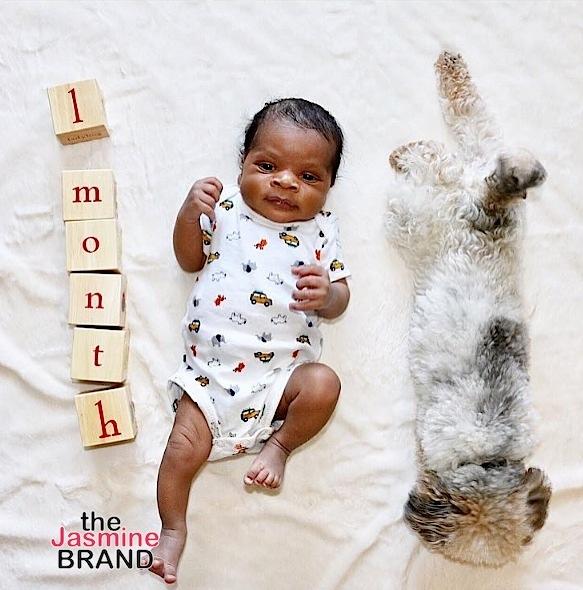 Russell Westbrook Debuts Son Noah, Kobe Bryant's Adorable Moment w/ Baby Bianka + Naturi Naughton & Eniko Hart's Baby Bump [Photos]