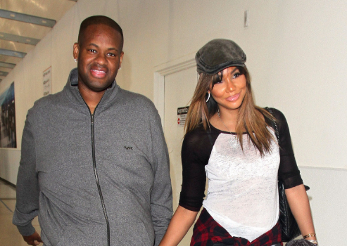 EXCLUSIVE: Tamar Braxton's Hubby Vincent Herbert Ex Partners On Hunt To Collect 360k Debt