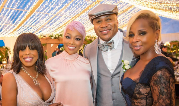 LL Cool J's Daughter Gets Married! Mary J. Blige, Monica, Niecy Nash Attend [Photos]