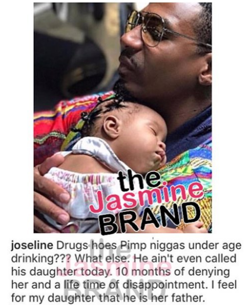 Joseline Accuses Stevie J Of Drugs, Hoes & Pimping