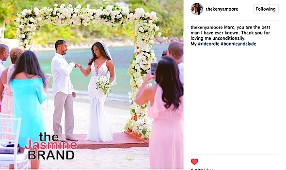 Kenya Moore Reveals Husband's Identity