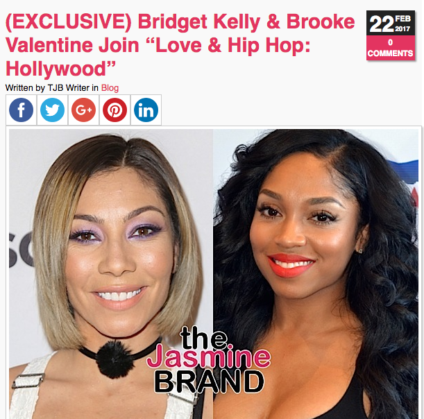 1st Look: Keyshia Cole On Love & Hip Hop: Hollywood + Chanel Westcoast, Alexis Skyy, Brooke Valentine Cast