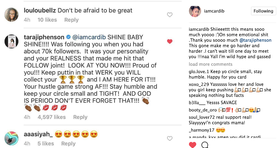 Taraji P. Henson Kills Her Impersonation of Cardi B