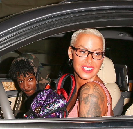 Amber Rose & 21 Savage Dating For Almost A Month [Photos]
