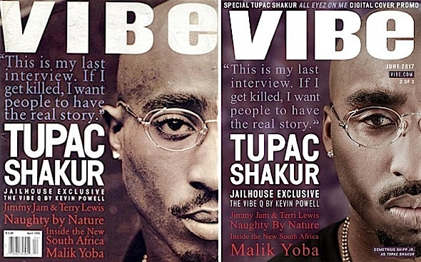 Demetrius Shipp, Jr. Channels Tupac For Iconic Covers
