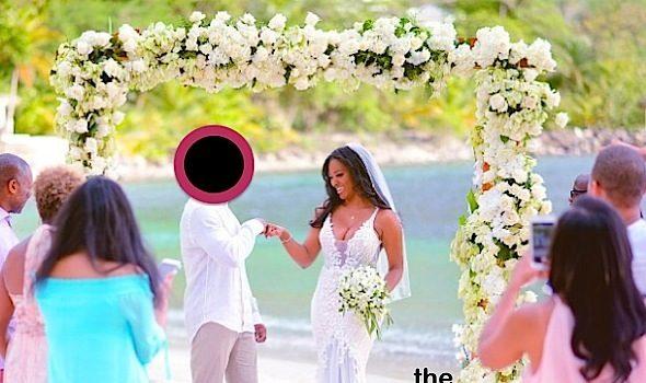 Kenya Moore Reveals Husband's Identity [Photos]