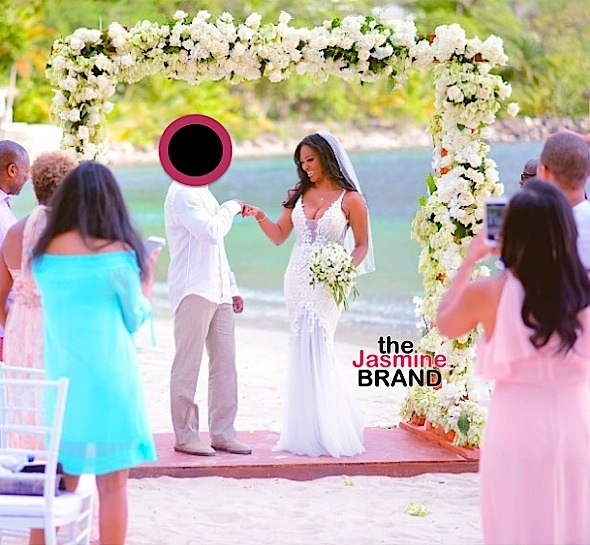 Kenya Moore Reveals Husband's Identity [Photos]