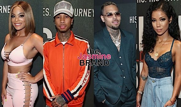 """Chris Brown: Welcome To My Life"" Premiere: Diddy, Terrence J, Big Boy, Mehgan James, Tyga, Jhene Aiko"