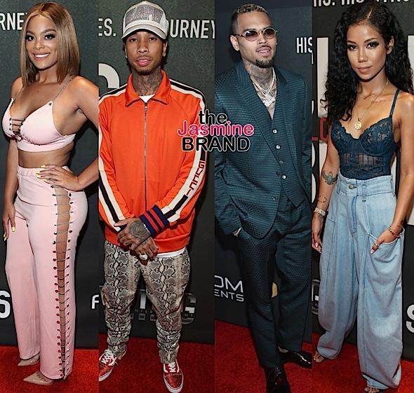 """Chris Brown: Welcome To My Life"" Premiere: Diddy, Terrence J, Big Boy, Mehgan James, Tyga, Jhene Aiko"