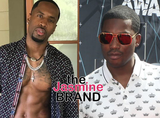Meek Mill's Friends Jump Nicki Minaj's Ex Safaree