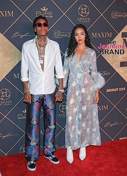 Wiz Khalifa & Girlfriend Izabela Guedes, Nick Cannon, LL Cool J, Lil Mama, Blac Chyna, Angel Brinks [Celebrity Stalking]
