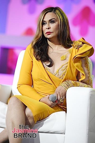 Tina Lawson Shades The Grammys