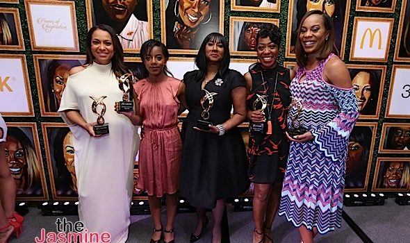 McDonald's 365Black Awards Honors: Sanya Richards-Ross, Tichina Arnold, Valeisha Butterfield & Chasity Hale