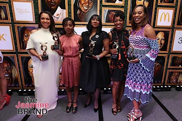 McDonald's 365Black Awards Honors: Sanya Richards-Ross, Tichina Arnold, Valeisha Butterfield & Chasity Hale