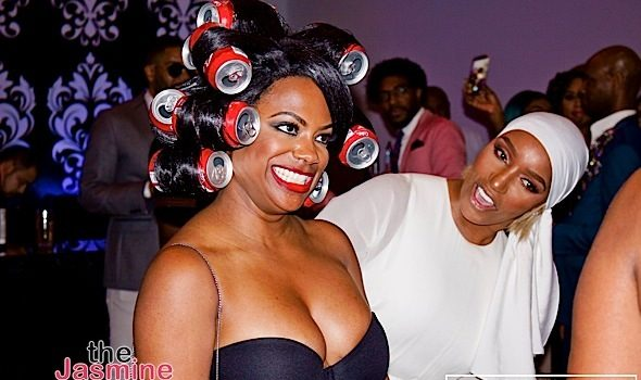 Gabby Sidibe's Sexy Bra Pic, Toni Braxton Debuts New Hair + Kandi Burruss Rocks Coke Can Wig [Photos]
