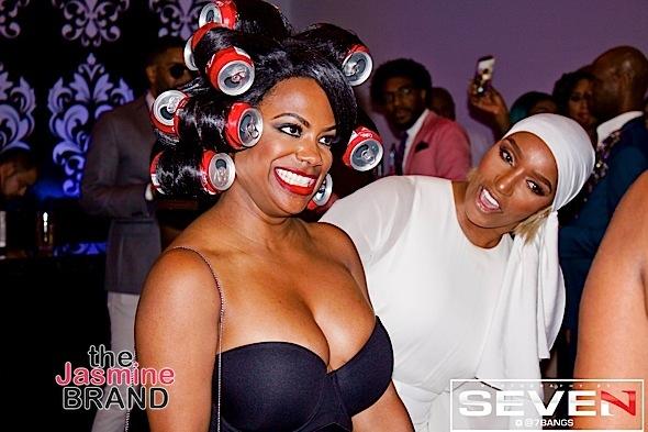 Gabby Sidibe's Sexy Bra Pic, Toni Braxton Debuts New Hair + Kandi Burruss Rocks Coke Can Wig [Photos]