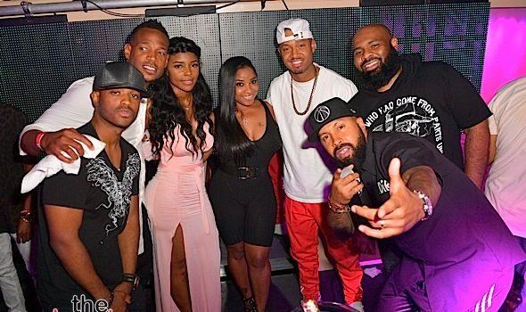 Kandi Burruss, Terrence J, Toya Wright, Marlon Wayans, Lance Gross, Larenz Tate Party in New Orleans [Spotted. Stalked. Scene.]