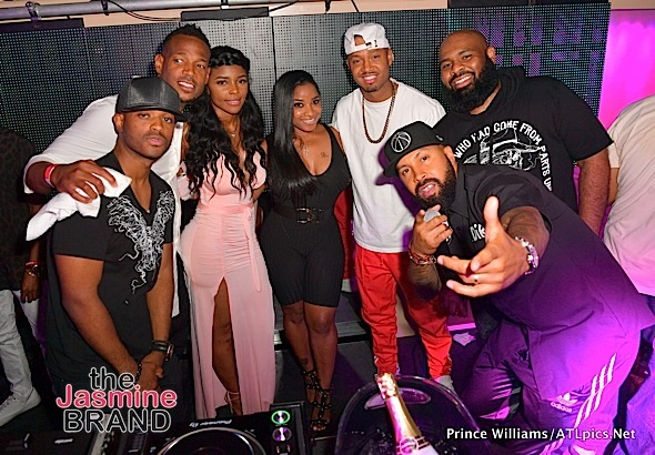 Kandi Burruss, Terrence J, Toya Wright, Marlon Wayans, Lance Gross, Larenz Tate Party in New Orleans [Spotted. Stalked. Scene.]