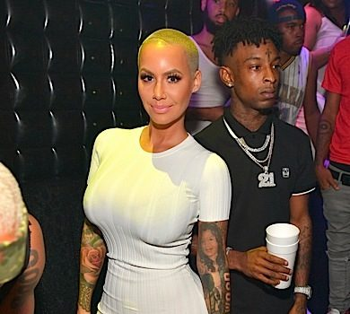 Amber Rose & Boyfriend 21 Savage Party in ATL [Spotted. Stalked. Scene.]
